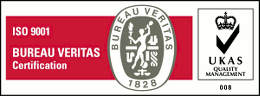 Bureau Veritas UKAS ISO 9001 Certification